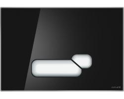 Клавиша для инсталляции Cersanit Actis BU-ACT/Blg/Gl (чёрная, стеклянная, для инсталляции Cersanit Leon New и Cersanit Linc Pro)