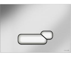 Клавиша для инсталляции Cersanit Actis BU-ACT/Cm (хром матовый, для инсталляции Cersanit Leon New и Cersanit Linc Pro)