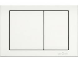 Клавиша для инсталляции Cersanit Cube BU-CB/Wh (белая, для инсталляции Cersanit Hi-Tec)