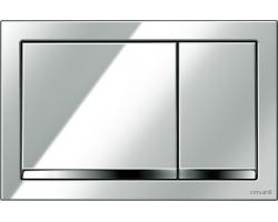 Клавиша для инсталляции Cersanit Enter BU-ENT/Cg (хром глянец, для инсталляции Cersanit Leon New и Cersanit Linc Pro)