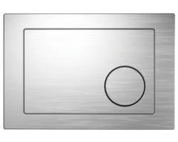 Клавиша для инсталляции Cersanit Geometri BU-GMT/Cm (хром матовый, для инсталляции Cersanit Leon New и Cersanit Linc Pro)