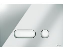 Клавиша для инсталляции Cersanit Intera BU-INT/Cg (хром глянец, для инсталляции Cersanit Leon New и Cersanit Linc Pro)