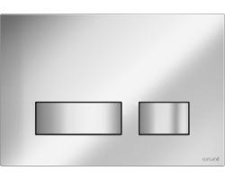 Клавиша для инсталляции Cersanit Movi BU-MOV/Cm (хром матовый, для инсталляции Cersanit Leon New и Cersanit Linc Pro)