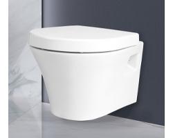 Унитаз подвесной Creo Ceramique Paris PA1100+PA1001 (белый, микролифт)
