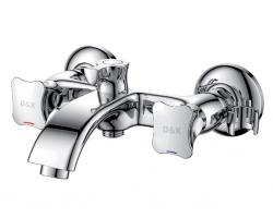 Смеситель для ванны D&K Hessen Grimm DA1383201 (хром глянец)