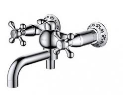 Смеситель для ванны D&K Hessen Hercules DA1423241 (хром глянец)