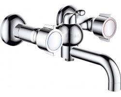 Смеситель для ванны D&K Hessen Torhall DA1413241 (хром глянец)