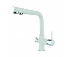 Смеситель для кухни Dr. Gans DG-05 30.45H.2120.401 (белый, с подключением к фильтру с питьевой водой)