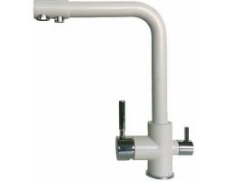 Смеситель для кухни Dr. Gans DG-05 30.45H.2120.404 (серый,  с подключением к фильтру с питьевой водой)