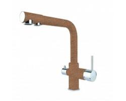 Смеситель для кухни Dr. Gans DG-05 30.45H.2120.406 (терракот, с подключением к фильтру с питьевой водой)
