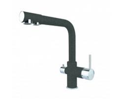 Смеситель для кухни Dr. Gans DG-05 30.45H.2120.407 (чёрный,  с подключением к фильтру с питьевой водой)