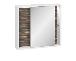 Зеркало-шкаф Edelform Belle 80 75 см. 2-762-44 (макассар-белый)