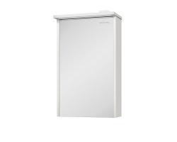Зеркало-шкаф Edelform Marino 50 42 см. 3-795-45 (выбеленный дуб-белое)