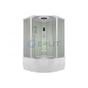 Душевой бокс Erlit ER 4350T-W3 150х150 (матовое стекло, высокий поддон)