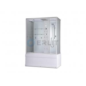 Душевой бокс Erlit SYD170-W1 167х90 (прозрачное стекло, высокий поддон)