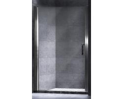 Дверь для душа Esbano ES-90LD Left 90 см. 90х195 (распашная, прозрачное стекло, левая)
