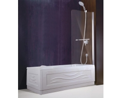Душевая шторка Esbano ES-1480 80 см. 80х140 (прозрачное стекло)
