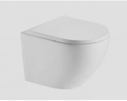 Унитаз подвесной Esbano Estena (безободковый, микролифт, белый)