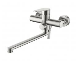 Смеситель для ванны Esko Chicago CG31 (нержавеющая сталь, с душевым комплектом)