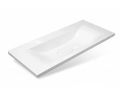 Раковина Эстет Бали 100 (ФР-00001663) 100 см. (белая, встраиваемая в столешницу)