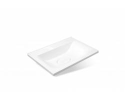 Раковина Эстет Бали 65 ФР-00001501 65 см. (белая, встраиваемая в столешницу)