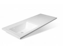 Раковина Эстет Даллас 110 ФР-00001741 110 см. (левая, белая, для установки над стиральной машинкой)