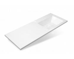 Раковина Эстет Даллас 115 ФР-00001937 115 см. (правая, белая, для установки над стиральной машинкой)