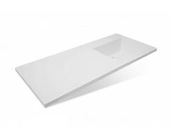 Раковина Эстет Даллас 120 ФР-00001528 120 см. (правая, белая, для установки над стиральной машинкой)