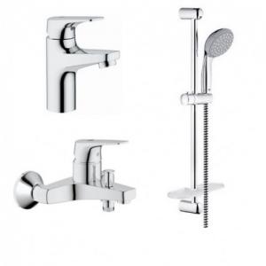 Комплект смесителей для ванной комнаты Grohe BauFlow 121624