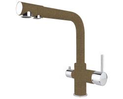 Смеситель для кухни Florentina FL-02 33.52L.2110.105 (коричневый, с подключением к фильтру с питьевой водой)