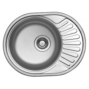 Кухонная мойка Florentina Форум FO.577.447.В.10.P.08 (полированный хром)