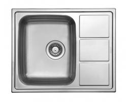 Кухонная мойка Florentina Профи PR.615.500.В.10.P.08 (полированный хром)