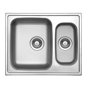 Кухонная мойка Florentina Профи PR.615.500.В.1K.M.08 (матовый хром)