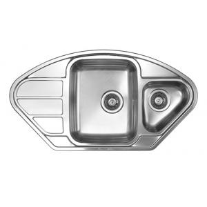 Кухонная мойка Florentina Профи PR.945.510.В.1K.D.08 (декорированная)