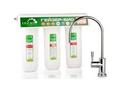 Фильтр для питьевой воды Гейзер Био 331 16016 (кран в комплекте)