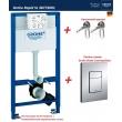 Инсталляция для подвесного унитаза Grohe Rapid SL 38772001 (38772 001) (комплект 3 в 1)