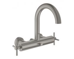 Смеситель для ванны Grohe Atrio 25010DC3 (нержавеющая сталь)