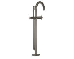 Смеситель для ванны Grohe Atrio 25044AL3 (графит матовый, напольного монтажа, внешняя часть)