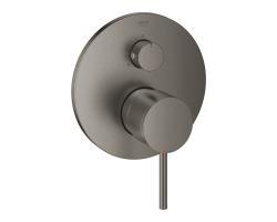 Смеситель для ванны термостатический Grohe Atrio 24096AL3 (графит матовый, внешняя часть, скрытого монтажа)