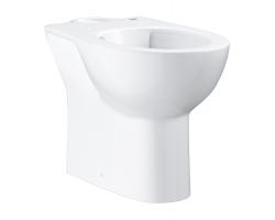 Чаша напольного унитаза Grohe Bau Ceramic 39349000 (белый, горизонтальный, безободковый)