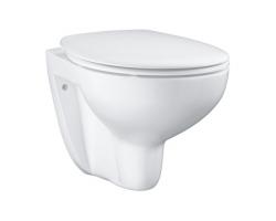 Унитаз подвесной Grohe Bau Ceramic 39351000 (белый, безободковый, микролифт)