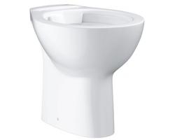 Чаша напольного приставного унитаза Grohe Bau Ceramic 39431000 (белый, вертикальный, безободковый)