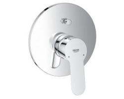 Смеситель для ванны Grohe BauEdge 29079000 (хром глянец, внешняя часть+скрытая часть, встраиваемый)