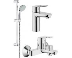 Комплект смесителей для ванной комнаты Grohe BauLoop 118105