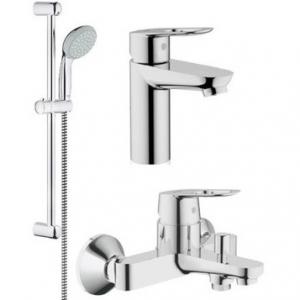 Комплект смесителей для ванной комнаты Grohe BauLoop 121827