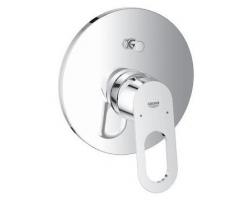 Смеситель для ванны Grohe BauLoop 29081000 (хром глянец, внешняя часть+скрытая часть, скрытого монтажа)