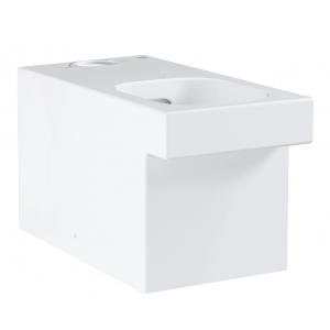 Чаша напольного унитаза Grohe Cube Ceramic 3948400H (белый, горизонтальный, безободковый)