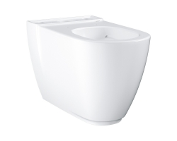 Чаша напольного унитаза Grohe Essence 3957200H (белый, горизонтальный, безободковый)