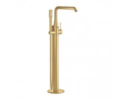 Смеситель для ванны Grohe Essence New 23491GN1 (золото матовое, внешняя часть, напольного монтажа)