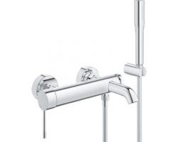 Смеситель для ванны Grohe Essence New 33628001 (хром глянец, с душевым комплектом)